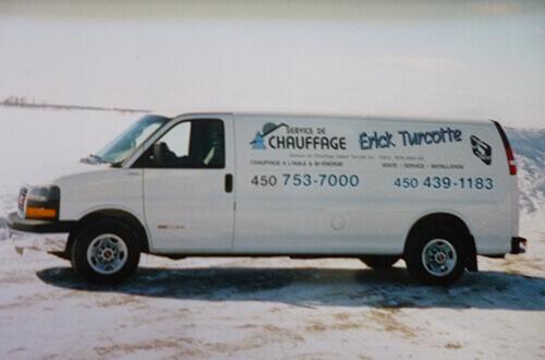 Camion Érick Turcotte